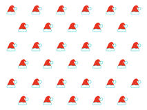 Santa Claus-hoedenpatroon Royalty-vrije Stock Afbeelding