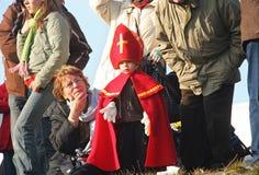 Santa Claus Holland Royalty Free Stock Photography