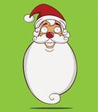 Santa Claus-hoofd Royalty-vrije Illustratie