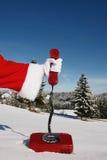 Santa Claus hotline Stock Photos