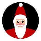Santa Claus Icon Stock Foto