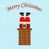 Santa Claus Icon Lizenzfreies Stockbild