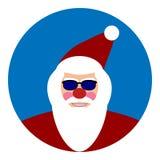 Santa Claus icon Stock Images