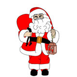 Santa Claus illustration Stock Photos