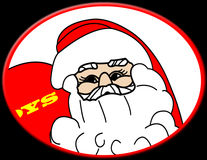 Santa Claus illustration Stock Photo