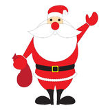 Santa Claus illustration Royalty Free Stock Images