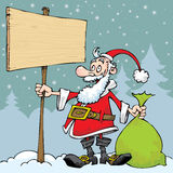 Santa Claus-Illustration - Illustration Stockfotografie