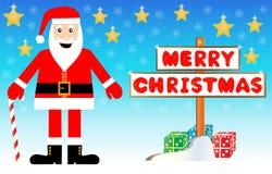 Santa Claus illustration Royalty Free Stock Photo