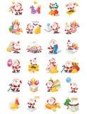 Santa Claus illustrations Royalty Free Stock Photos