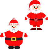 Santa Claus Illustrations Royalty Free Stock Photo
