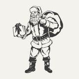 Santa claus ilustracja Obraz Royalty Free