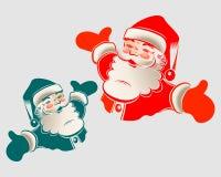 Santa claus ilustracja Obrazy Royalty Free
