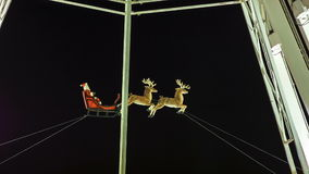 Santa Claus im Winter-Märchenland, London stock footage