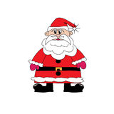 Santa Claus. Image of the symbol of the New Year and Christmas - Santa Claus Royalty Free Stock Photography