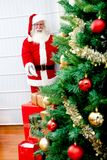 Santa Claus indoors Stock Photos