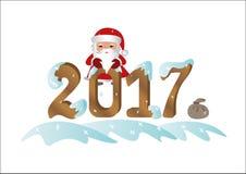 Santa Claus 2017 Stock Photos