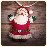 Santa Claus instagram Stock Foto