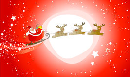 Santa Claus Is Comming! Royalty Free Stock Photo