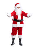 Santa Claus a isolé sur le blanc. photos stock