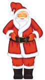 Santa claus isolated Stock Photography