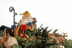 Santa Claus isolated Royalty Free Stock Image