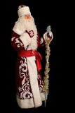 Santa Claus on isolated black Royalty Free Stock Photo