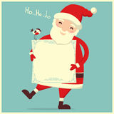 Santa Claus isolated vector Stock Image