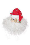 Santa Claus isolated on white. A Christmas and New Year decoration isolated on white Stock Images