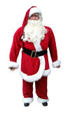 Santa Claus isolated. On white background Stock Images