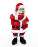 Santa Claus Isolated Stock Photo