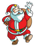 Santa claus isolated on white Stock Photography