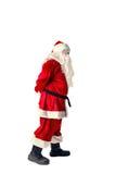 Santa Claus isolerade på vit Royaltyfri Foto