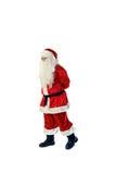 Santa Claus isolerade på vit Arkivbild