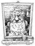 Santa Claus on January 7 Stock Image