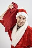 Santa Claus joven Imagenes de archivo