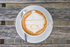 Santa Claus kaffe Arkivfoton