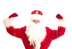 Santa Claus - kampioen royalty-vrije stock afbeelding