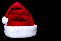 Santa claus kapelusz Zdjęcia Royalty Free