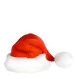 Santa claus kapelusz Zdjęcie Stock
