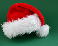 Santa claus kapelusz obrazy stock