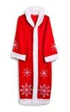 Santa Claus-Kleidung Mit Schatten Lizenzfreie Stockfotos