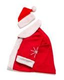 Santa Claus-Kleidung Zu das neue Jahr feiern Stockfotografie