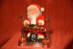 Santa Claus kolekcja dobosz Obraz Stock