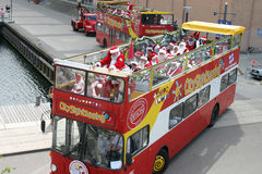 Santa claus kongresu Copenhagen świata. Zdjęcia Royalty Free
