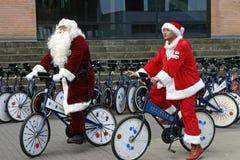 Santa claus kongresu Copenhagen świata. Fotografia Royalty Free