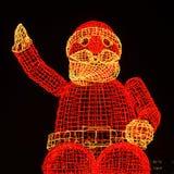 Santa Claus at kurfuerstendamm Royalty Free Stock Photos