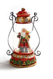 Santa Claus-lamp Stock Foto's