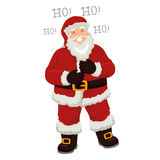 Santa Claus Laughing fort Images stock