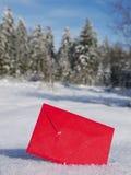 Santa claus letter Royalty Free Stock Photos