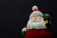 Santa claus with light Stock Images